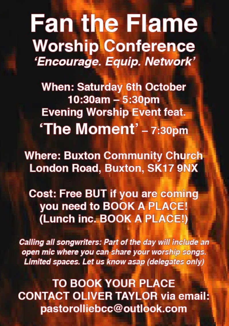 Location map for Buxton Community Church
